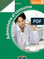 Edición 1 ADMINISTRE EL CONSUMO