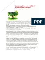 A contabilização dos negócios com crédito de carbono