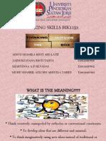 Thinking Skills Presentation