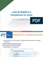 Guia de Registro y Postulacion en Linea