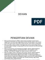 definisi subbudaya dan devian
