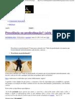 Presciência ou predestinação_ (série curtas – 01) _ Portal da Teologia.pdf