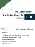 Audit Readiness Success