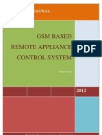 GSM Based Remote Appliance Control System