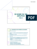 animación Tema 5. DIN+üMICA DE GRUPO