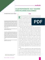 Alternatif Bir Elektropnömatik Valf Tasarımı ve Karakteristliklerinin İncelenmesi