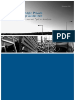 National PPP Guidelines Volume 1 Procurement Options Analysis Dec 08