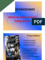 1.- Generos Fotoperiodisticos