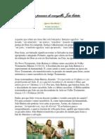 APOSTILA DE RELIGIÃO A TESTEMUNHA E PRECURSOR DO EVANGELHO
