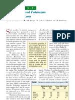 2001. Phosphorus and Potassium Removal in Corn