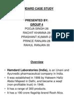Hamdard Case Study