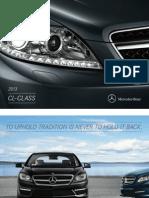 Mercedes Benz US CL-Class 2013