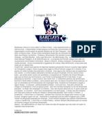 Guia Da Premier League 2013 - 14