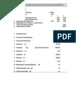 Trabalho GQ2 - Orçamento do Muro - 110 m - 2011 1