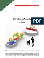 CRM in Pharma Marketing
