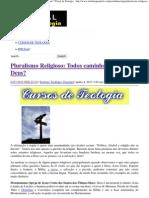 Pluralismo Religioso_ Todos caminhos levam a Deus_ _ Portal da Teologia.pdf
