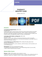 Pharmacy Industry Guide