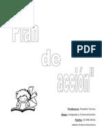 Plan de acción en el área Lenguaje y comunicación
