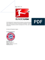 Guia Da Bundesliga 2013 - 14