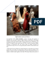 High Fashion and Local Flavor