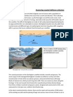 Assessing Coastal Defence Schemes