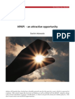 HPAPI an Attractive Opportunity Insight 2012