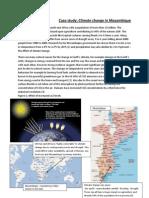 Case Study Mozambique - Climate change in Mozambique