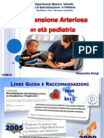 Ipertensione in pediatria
