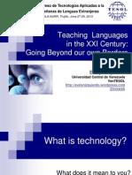 Teaching Languages in the XXI Century