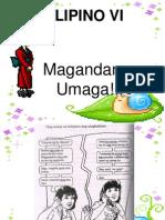 Pang-Abay Na Ingklitik
