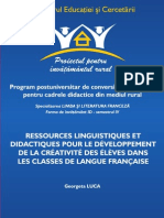 Ressources Linguistiques