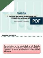SNIEG - Los Comités Estatales