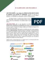 2013 Tarifa Publicador-renovador Portales Clasificados