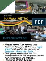 Likitha Namma Metro