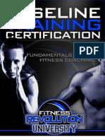 fr baseline training cert 0727122