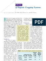 2003. Productivity of Organic Cropping Systems