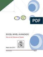 Manual Excel Avanzado Agosto 2013
