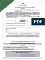 Formato Unico de Autorizacion de Consulta de Bc - Ampliado
