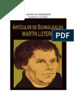 Artículos de Schmalkalda.pdf Martin Lutero