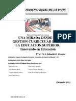 EducacionSuperior Curricular