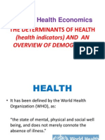 1a Health Indicators
