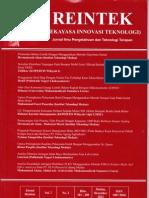 JURNAL RAINTEK, Nomor Daftar Isi 7, VOL 7 No 2, Desember 2012, Halaman 147 - 156.