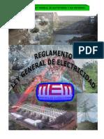 Reglamento - Ley General de Electricidad