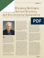2004. Enhanced Effi Ciency Fertilizers