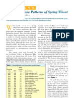 2004. Nutrient Uptake Patterns of Spring Wheat