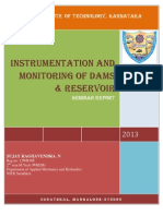 INSTRUMENTATION AND MONITORING OF DAMS & RESERVOIR.
