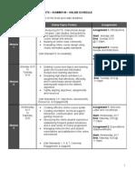 DOTS (Summer 2009) Schedule of Online Activities and Assignments