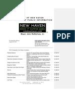 New Haven Community Arts Grants