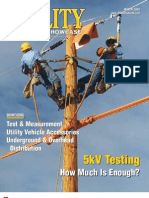 5kV Cable Testing