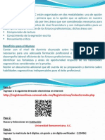 Registro de Sustentantes Eccypec Octubre 2013